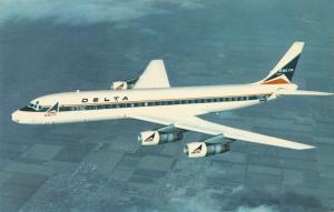 Delta Modern Jet Fleet - Douglas DC-8 Fanjet - Aviation