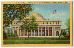 Social Religious Bldg, George Peabody College for Teachers, Nashville TN