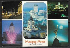 Canada, Winnipeg Moods, Multiview, unused