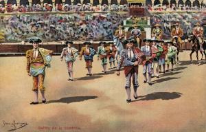 Spain Bullfighting Salida de la cuadrilla 01.79
