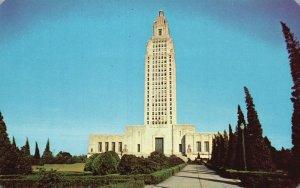Baton Rouge, Louisiana, LA, State Capitol, Chrome Vintage Postcard g8279