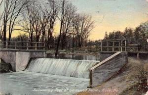 Erie Pennsylvania~Swimming Pool Has Dam-Like Runoff~G;enwood Park 1911