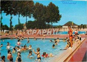Postcard Modern Cerans Foulletourte Pool