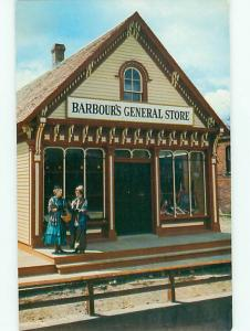 New Brunswick Canada Old Country Store Barbours General Store   Postcard # 5787