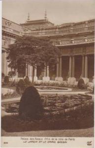 RP: Le Jardin et le Grand Basin, Palais des Beaux Arts de la Ville de Paris, ...