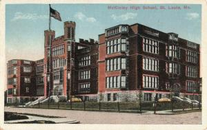 Postcard McKinley High School St Louis Missouri