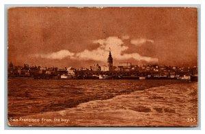 1914 Postcard San Francisco California From The Bay pc3015