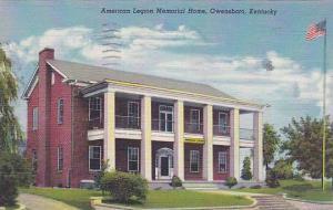 American Legion Memorial Home, Owensboro, Kentucky, PU-1949
