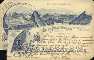 Bellevue Swizerland, Schweiz, Svizzera, Suisse Hotel Pilatuskulm Bellevue Hot...