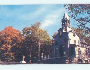 Unused Pre-1980 CHURCH SCENE Montreal Quebec QC A6545