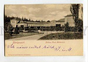 3152062 Czech Republic KONIGSWART Castle Schloss Furst Metterni