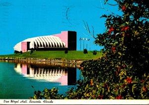 Florida Sarasota Van Wezel Hall Performing Arts Center 1983