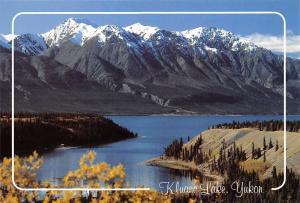 Canada Yukon Kluane Lake Mountain Landscape Lac