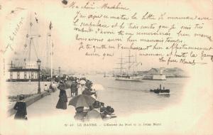 France Le Havre L'Entrée du Port et la Jetée Nord 02.36