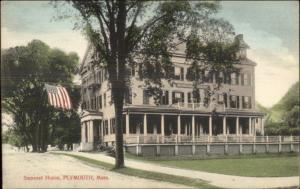 Plymouth MA Samoset House c1910 Postcard