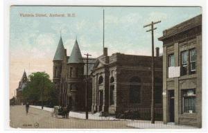 Victoria Street Amherst Nova Scotia Canada 1910c postcard