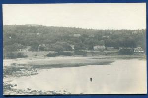 Seal Harbor Maine me real photo postcard RPPC