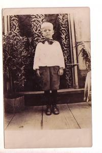 Real Photo, Young Boy