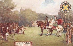 Cassivelaunus surrender to Caesar  TuckOiette St. Albans  Pageant Ser.