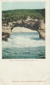SANTA CRUZ , California , 1901-07 ; Natural Bridge