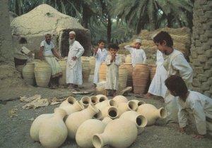 Bahla Pottery Oman Middle East Postcard