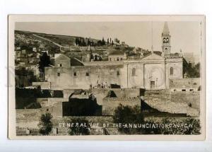 247805 ISRAEL Nazareth Annunciation church Vintage photo PC