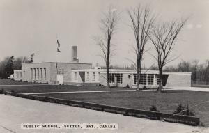 Public School Sutton Ontario Postcard