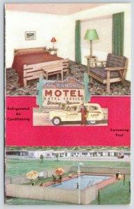 El Paso~Company Station Wagon Taxi Driver~El Rancho Motel~Refrigerated A/C~1940s