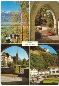 Liechtenstein, Gruss aus Vaduz, unused Postcard