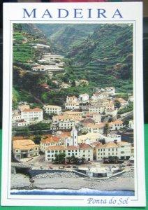 Portugal Madeira Ponta do Sol - unposted damaged