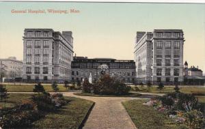 WINNIPEG, Manitoba, Canada, 1900-1910's; General Hospital