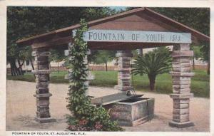 Florida Saint Augustine Fountain Of Youth