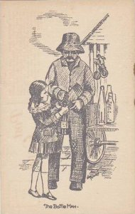 Man With Young Girl The Bottle Man