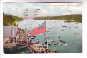 Flags, Regatta North West Arm, Halifax Nova Scotia, EP Charlton