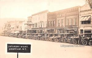 Stauray Night Granville NY 1921