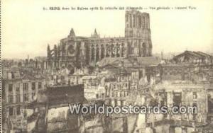 Reims, France, Carte, Postcard Ruines apres la retraite des Allemands  Ruines...