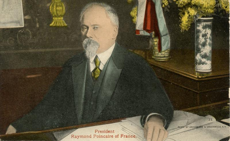 Famous People - President Raymond Poincaire of France
