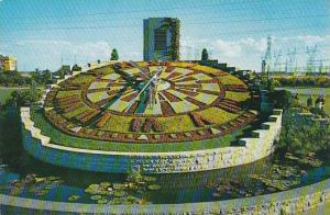 Canada Ontario Hydro's Floral Clock Between Queenstown & Niagara Falls