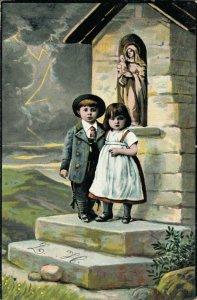 Victorian Style Kids Fantasy Postcard Lot of 8    01.18