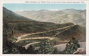 Colorado Lookout Mountain Upper Hairpins And Windy Point On the Lariat Trail