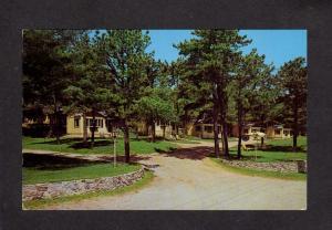 ME The East Wind Motor Lodge Motel Hotel Ogunquit Maine Postcard