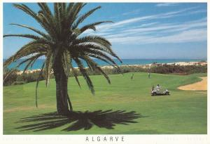 Vale Do Lobo Golf Course & Buggy Algarve Portugal Postcard