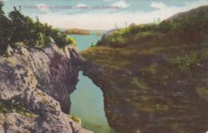 Wisconsin Lake Superior Singer's Bridge On Sister Islands 1910
