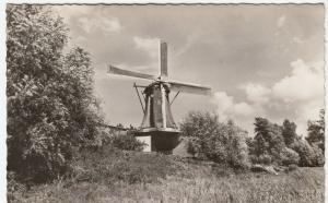 Netherlands; Unlocated Dutch Windmill RP PPC Unposted, c 1960's