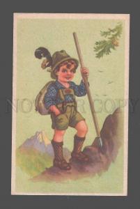 080235 Rock-climber SCOUT Vintage colorful PC