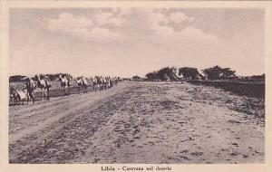 Camels, Carovana Nel Deserto, Libia, Africa, 1910-1920s