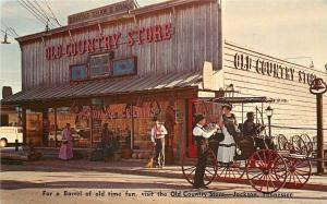 Jackson Tennessee~Brooks Shaw & Sons~Old Country Store~1960s Postcard
