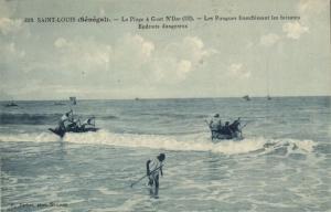 CPA Sénégal Afrique Saint-Louis - La Plage a Guet N'Dar (67984)