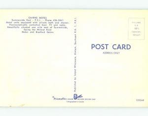 Unused Pre-1980 CAIRNS MOTEL IN SUMMERSIDE Prince Edward Island PEI CANADA s4316