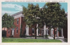 Texas Sherman Cammie Starnes Hall Kidd-Key Conservatory North Texas College